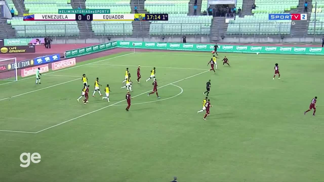 【集锦】世预赛-贝罗传射建功 委内瑞拉2-1厄瓜多尔