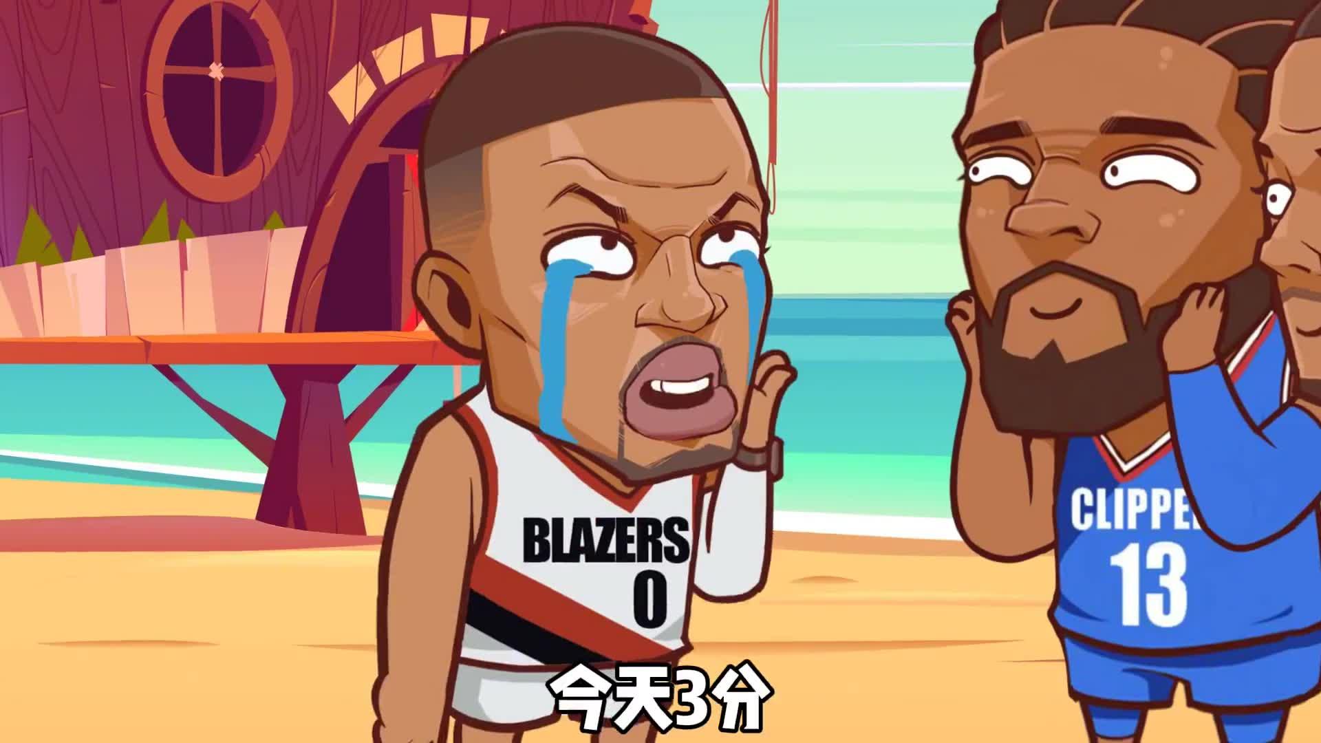 绘说篮球:利拉德:自从换了教练后表就没准过