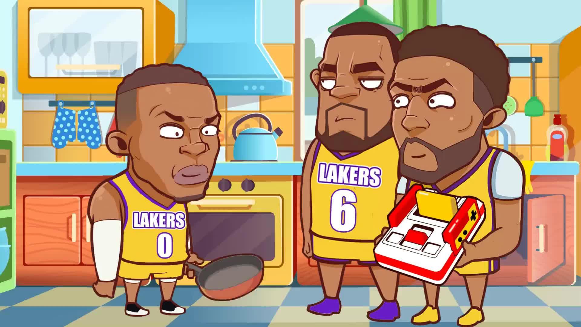 绘说篮球:都来排队给威少道歉