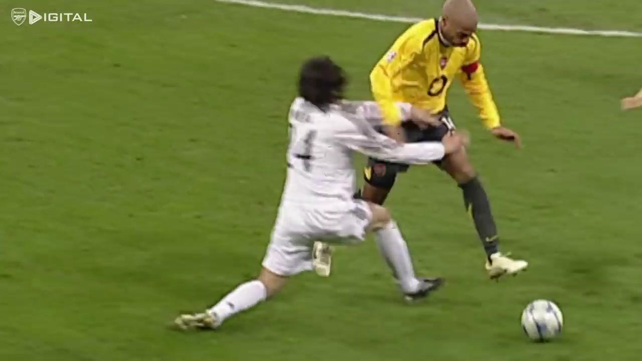 亨利一剑封喉!2006年欧冠阿森纳1-0皇马