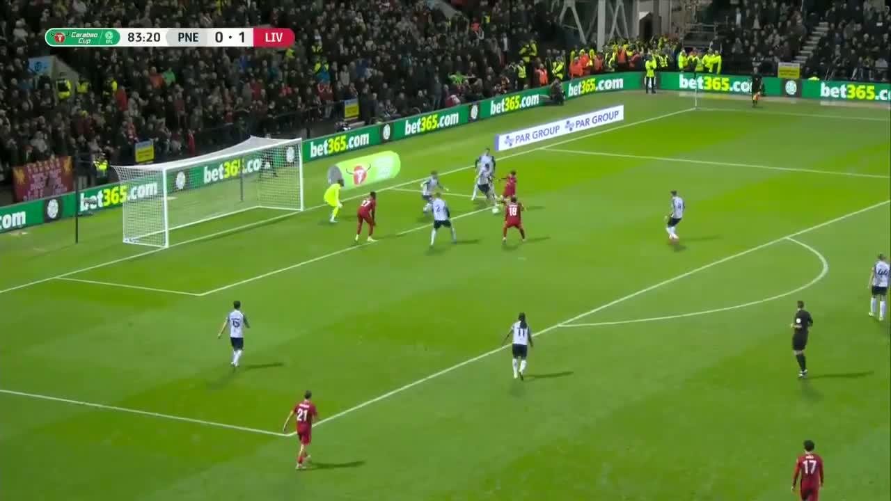 利物浦2-0领先!奥里吉蝎子摆尾破门建功