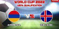 欧洲世界预赛亚美尼亚VS冰岛比赛实