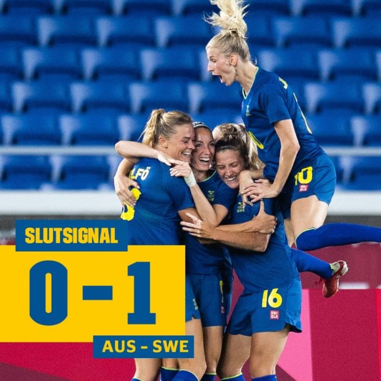 瑞典和加拿大将参加奥运会女足决赛 较量将于北京时间8月6日上午10点开始
