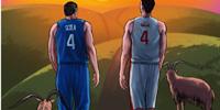 谢幕!国际篮联向斯科拉和加索尔致敬