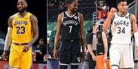 NBA官网评现役前十 杜兰特第一字母哥第二詹姆斯第三