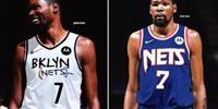 篮网队新球衣被曝 蓝白黑三种主要颜色