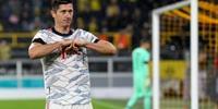2021年联赛 欧战进球排行:莱万24场34球居首