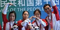 浙江队夺得女子气步枪团体金牌 奥运冠军杨倩摘得个人全运会第二金