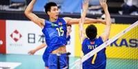 中国男排3-0中国台北夺亚锦赛季军 中国男排获得世锦赛资格