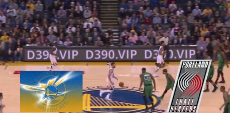 NBA季前赛勇士vs开拓者比分介绍