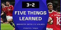 曼联3-2逆转击败亚特兰大 C罗300场里程碑绝杀