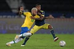 美洲杯巴西2-1哥伦比亚报道:菲尔米诺扳平卡塞米罗杀死迪亚斯·巴布