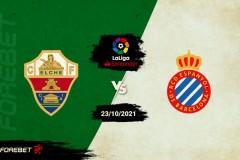 西甲前瞻-埃尔切vs西班牙人预测分析:西班牙人冲击三连胜