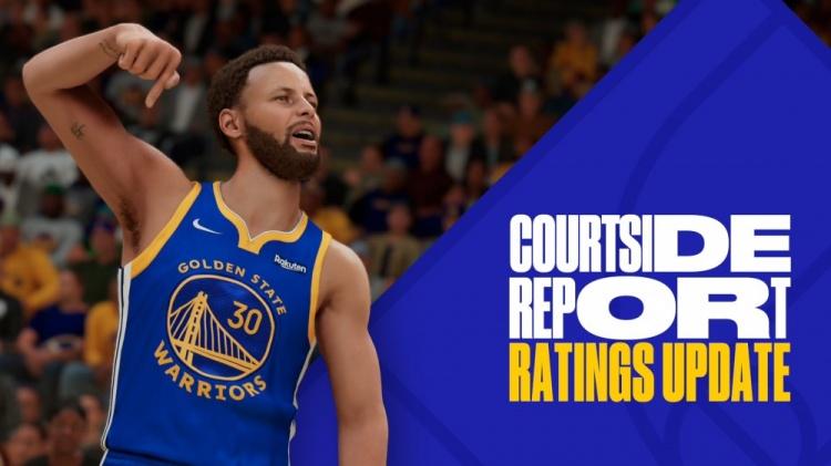 NBA2K更新球员才能值:库里升至97 与詹姆斯并列第1
