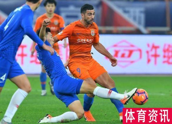 山东鲁能vs上海申花以1-3战败,钱杰破门锁定胜局