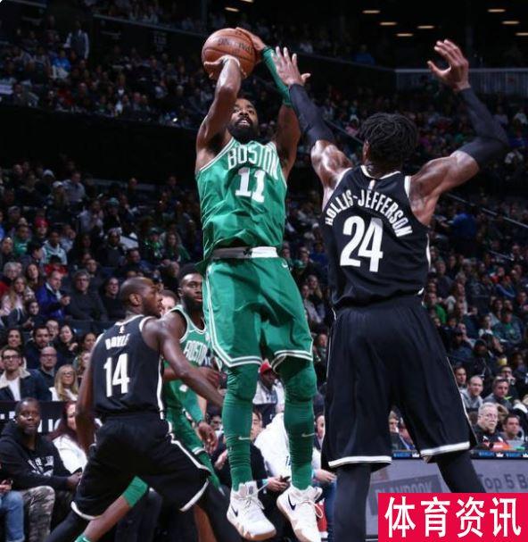欧文砍下21分 帮助绿军87-85击败篮网