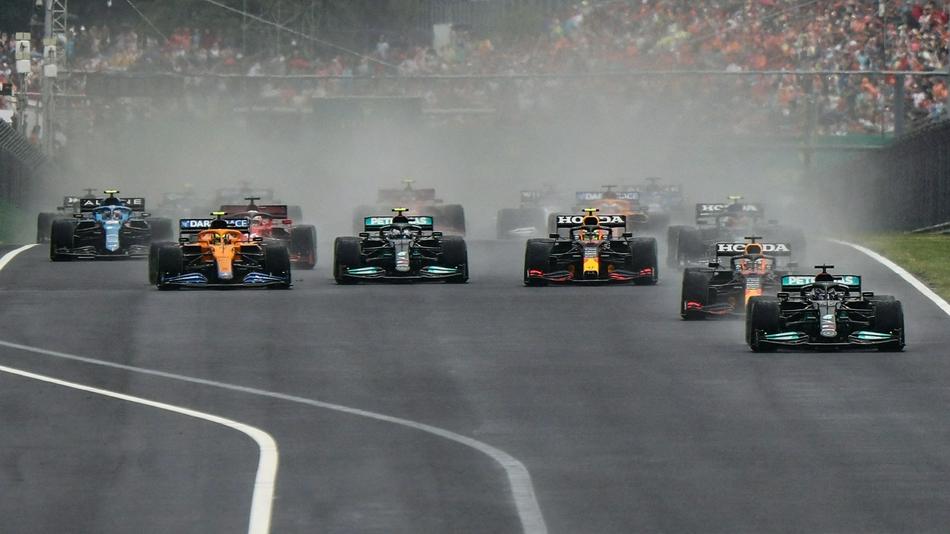图集-2021年F1匈牙利站正赛