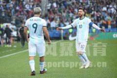 2019美洲杯:阿根廷vs智利