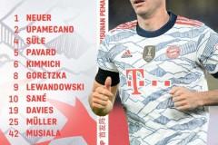 巴萨vs拜仁首发出炉:莱万PK德佩