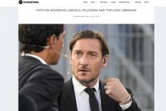 托蒂:穆里尼奥是罗马的增值项 佩莱格里尼是值得信赖的好队长