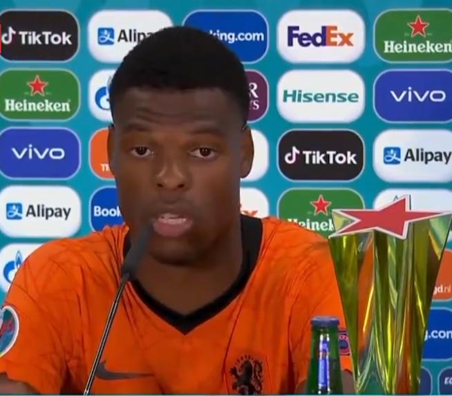 记者:尤文图斯关注荷兰国脚邓弗里斯 但不确定他是否会出价