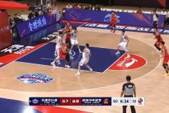 CBA常规赛深圳男篮122-94战胜天津男篮 贺希宁29分