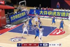 CBA常规赛-上海男篮120:94大胜天津迎开门红 王哲林18+12可兰7记三分