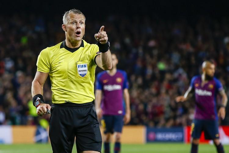 官方:荷兰裁判Ku·希佩尔将执法利物浦VS皇家马德里
