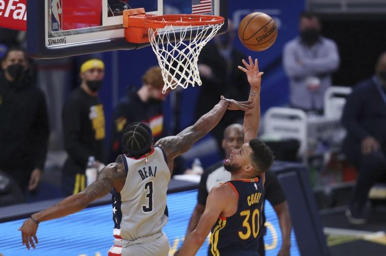 篮球经典:勇士击败奇才 篮网输给猛龙
