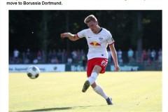 当地媒体:哈尔斯滕贝格将转会加盟多特蒙德