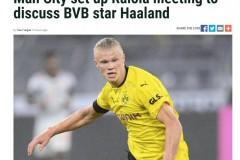 泰晤士报:哈兰德已成为曼城的头号转会目标