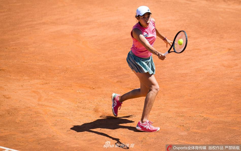 WTA罗马站张帅首轮出局
