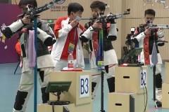 杨皓然领衔河北队夺全运会10米气步枪团体金牌 拿下个人本届全运会第二金