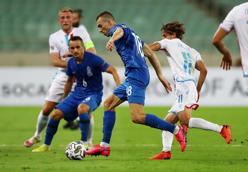 欧国联阿塞拜疆Vs卢森堡