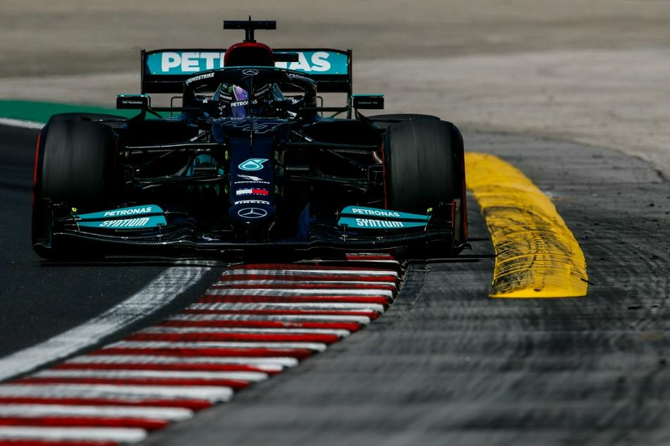 图集-2021年F1匈牙利站周五练习