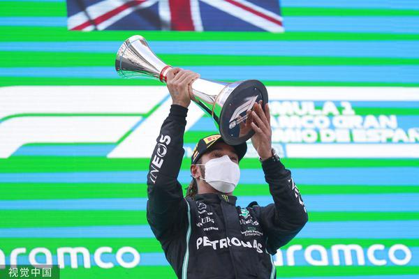 F1西班牙站汉密尔顿获第98冠 赛季第三冠!