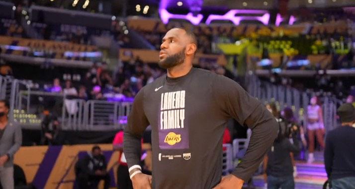 NBA发言人回应詹姆斯:本赛季的伤病率和上赛季差不多