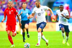 法国vs瑞士历史记录法国vs瑞士比赛结果