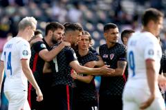 克罗地亚1-1捷克希克在欧洲杯个人赛中打进第三球