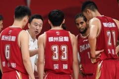 21-22CBA浙江稠州男篮赛程:首轮对阵福建 首阶段两次对阵广东和北京首钢