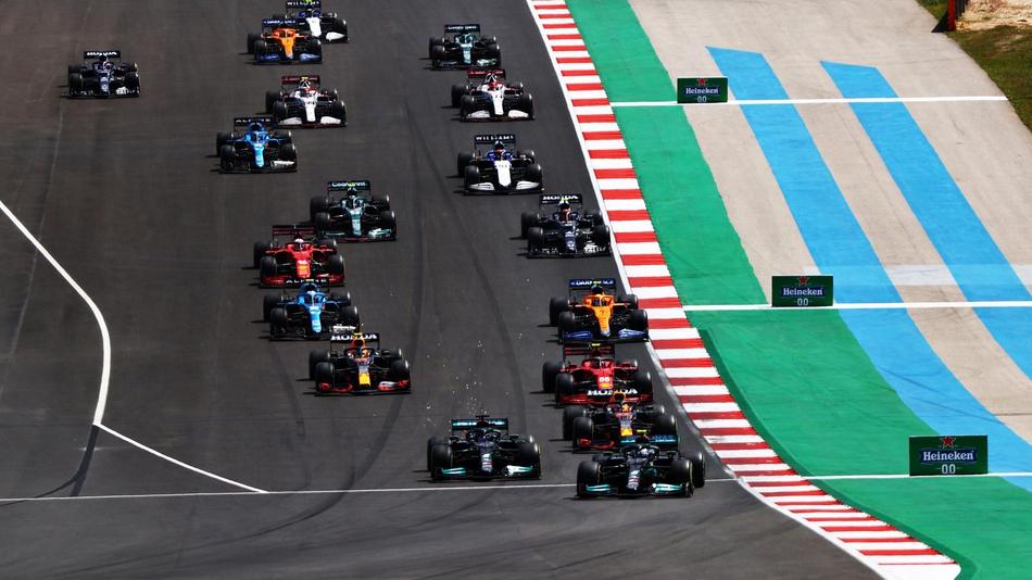 图集-2021年F1葡萄牙站正赛