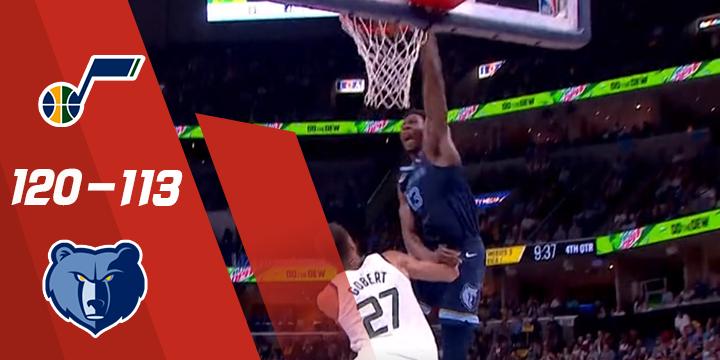 """""""亮点""""NBA-米切尔30 8克拉克森24"""