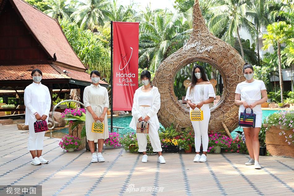 泰国LPGA赛开幕照何沐妮亮相