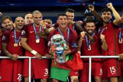 葡萄牙历年欧洲杯战绩 7进正赛5次杀入半决赛 2016年终捧杯