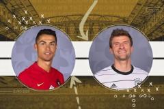 2021年葡萄牙vs德国欧洲杯预测与2021年欧洲杯葡萄牙比分分析