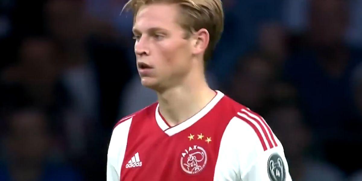 未来中场荷兰足球天才德容超级个人亮点剪