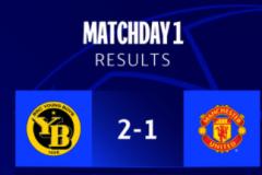 欧冠年轻人2-1绝杀十人曼联 C罗欧冠首秀破门难救主