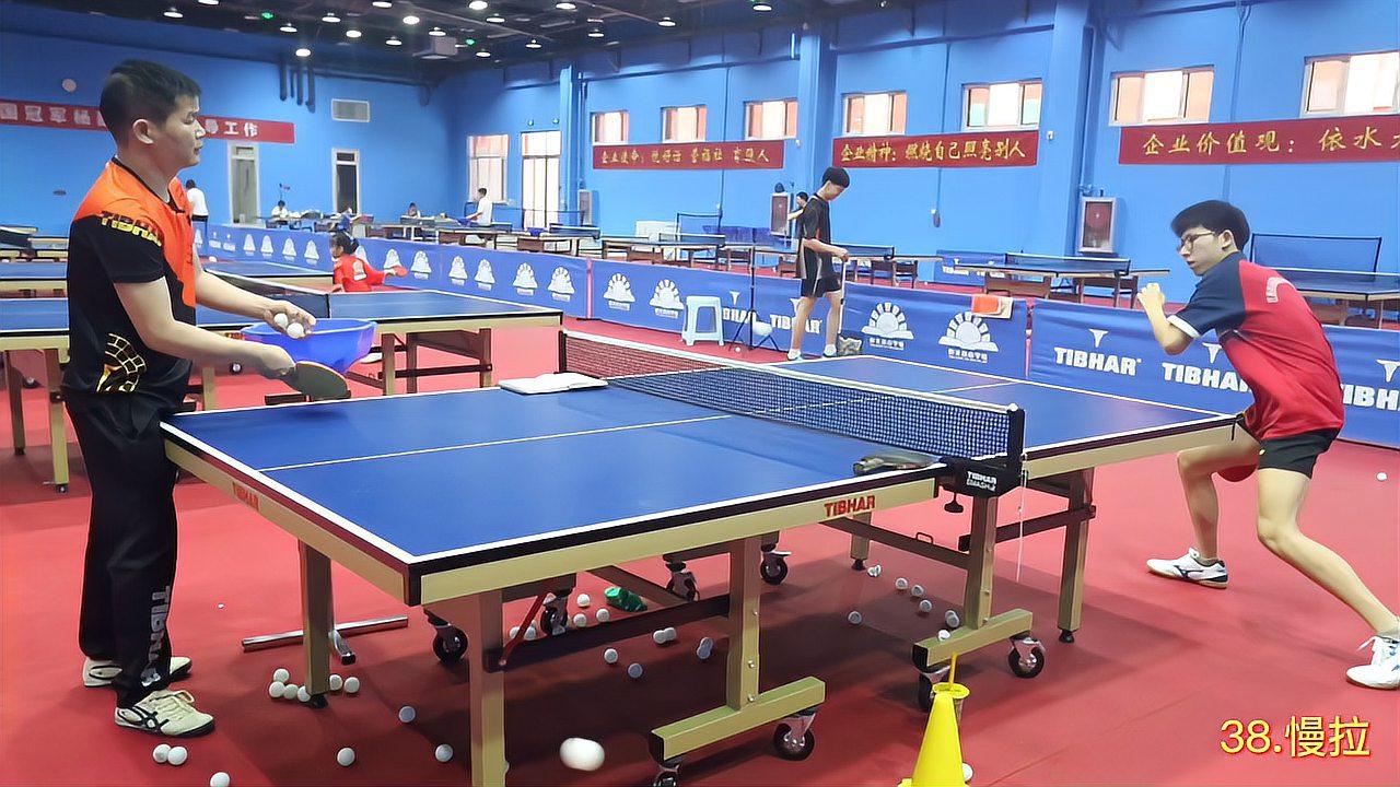 广大球迷必看:乒乓球比赛相持中节奏变化训练