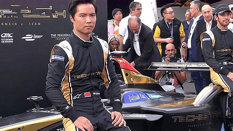 中国第一位F1赛车手,居然在比赛里输给韩寒,F1难道就这水平?