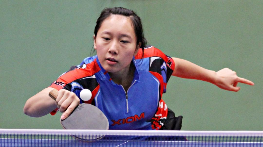 《乒乓球教学》横拍正手慢搓动作要领,初学者必学的入门技术